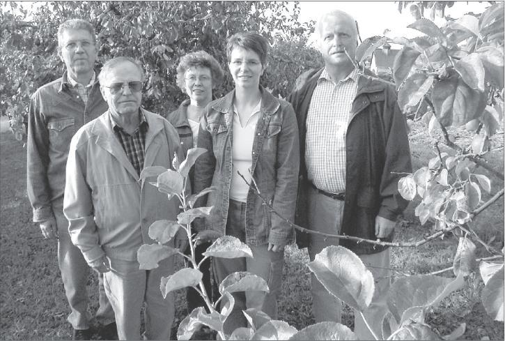 Insgesamt 25 selbstgepflanzte Obstbäume schmücken den hübschen Lehrgarten des Obst- und Gartenbauvereins Holzheim.