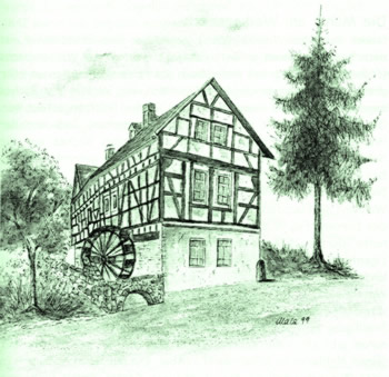 Mühle am Weihersbach