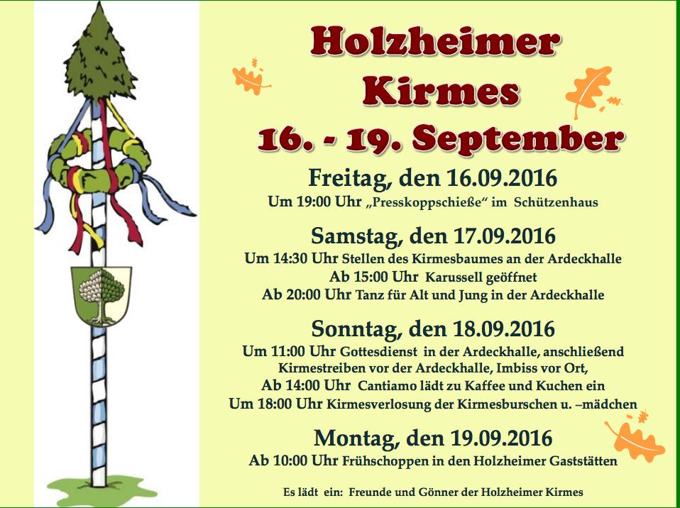 Holzheimer Kirmes